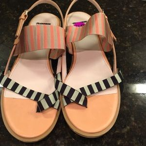 Jil Sander sandals.